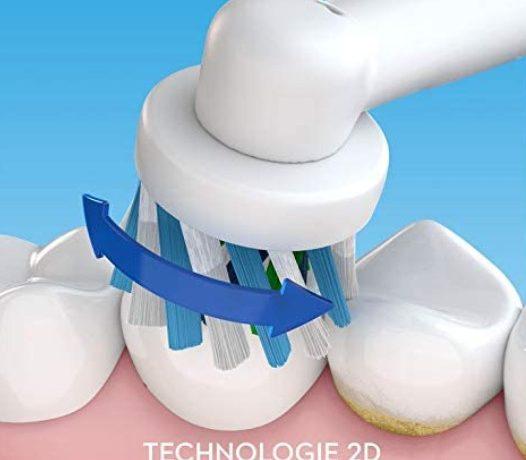 Avantages de la brosse à dents électrique